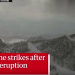 「環太平洋火山帯が動き出した!世界の終わりだ!」本白根山噴火のニュースに外国人ガクブル( ;゚Д゚))