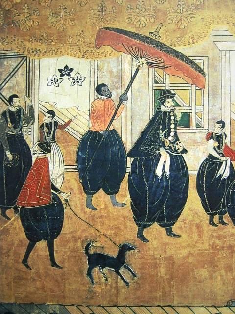【海外の反応】今日知ったんだけど、日本にはヤスケっていうアフリカ出身の黒人サムライがいたんだってね?
