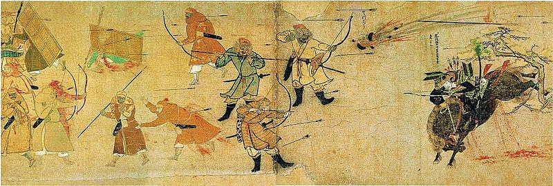 日本人、やっぱすげえわ! モンゴル侵攻を撃退した日本の武士団の戦いぶりをみた海外の反応