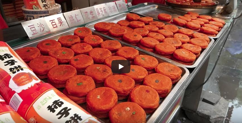 【海外グルメ探訪】油っぽそうだけど美味しそー! 中国西安の柿子餅が美味しそうと海外で話題に