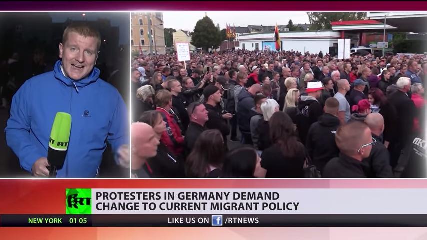 ついに革命が始まったな‥ドイツの反移民暴動に対する海外の反応